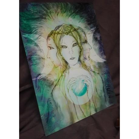 La déesse triple lune